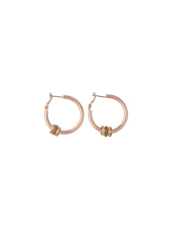 Ella Rose Gold Earrings