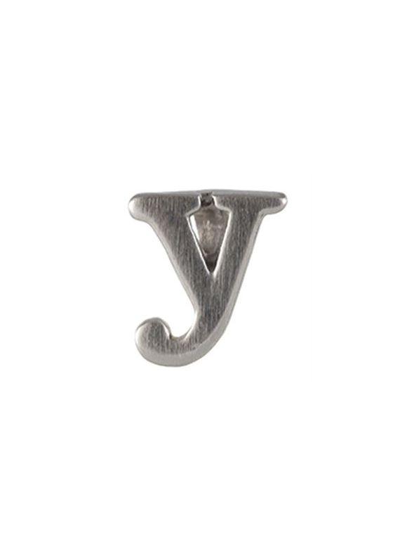 Silver 'Y' Slider Charm