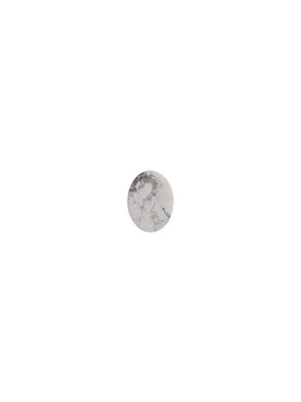 Howlite Oval Spacer