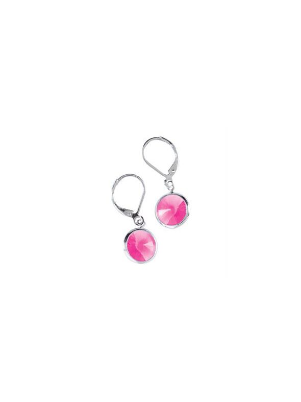 Rose Channel Earrings