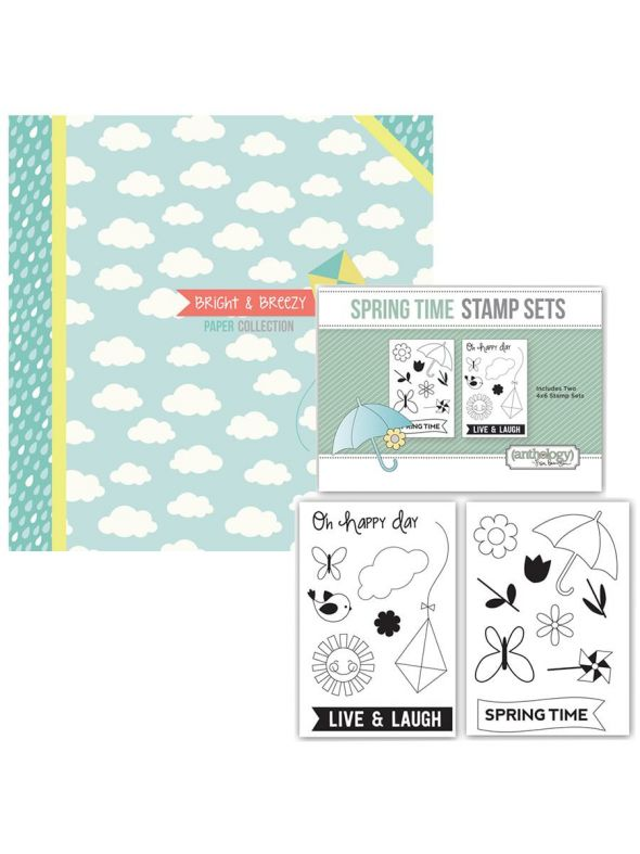 Bright and Breezy Collection Spring Stamp Bundle