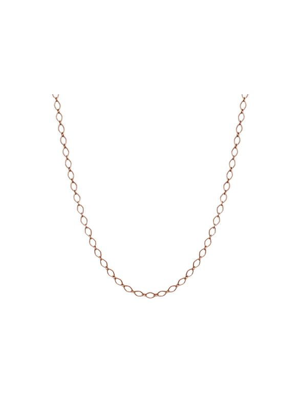 Rose Gold Sofia Chain: 16-19""