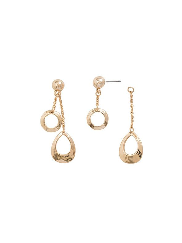 Teardrop Earrings Gold