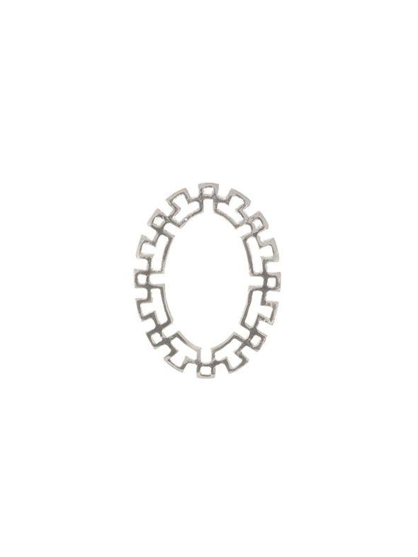 Mayan Silver Oval Frame