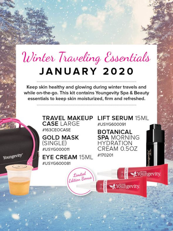 Mineral Makeup of the Month Club - January 2020